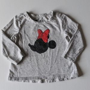 Baby Gap Minnie Mouse Long Sleeved Shirt * 3T